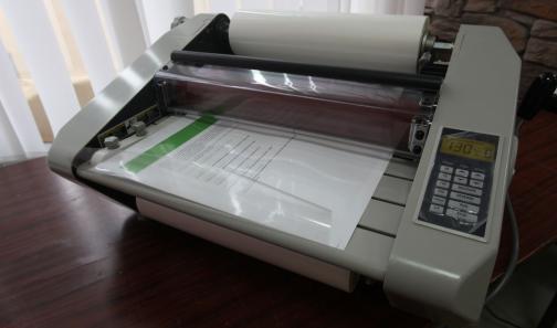как заламинировать бумагу в домашних условиях детстве