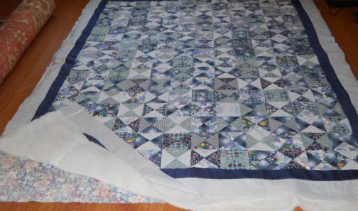 Как правильно простегать одеяло