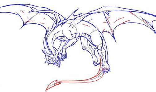 Мифические существа рисунки карандашом срисовать