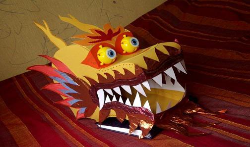 Поделки дракона своими руками фото