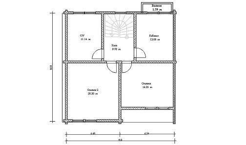 Рисовать чертежи домов